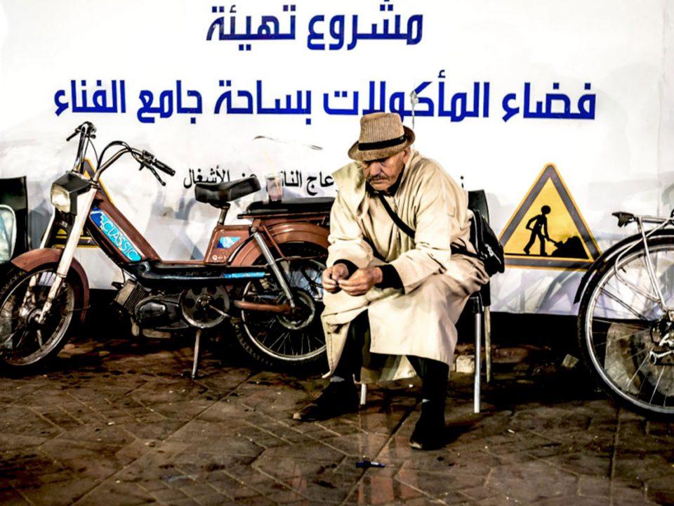 Hombre marruecos