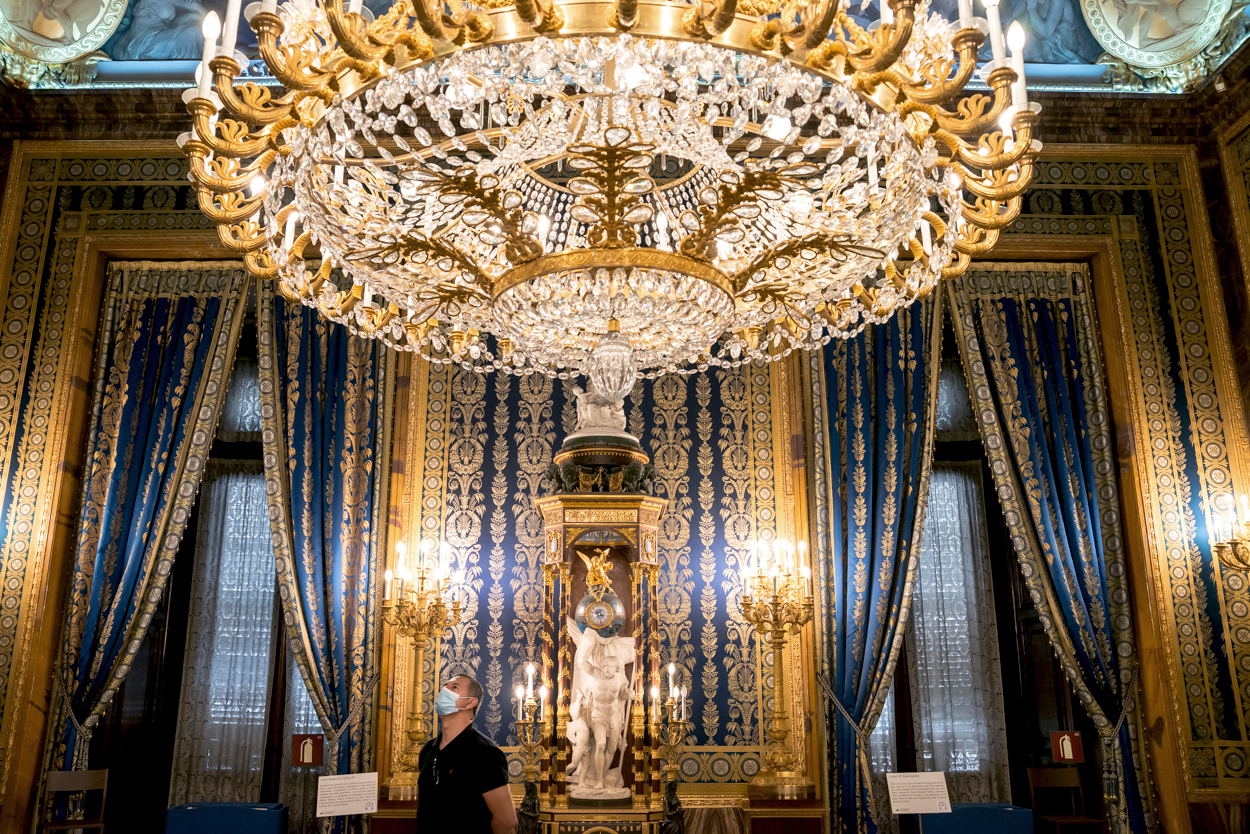 palacio real salones y visita
