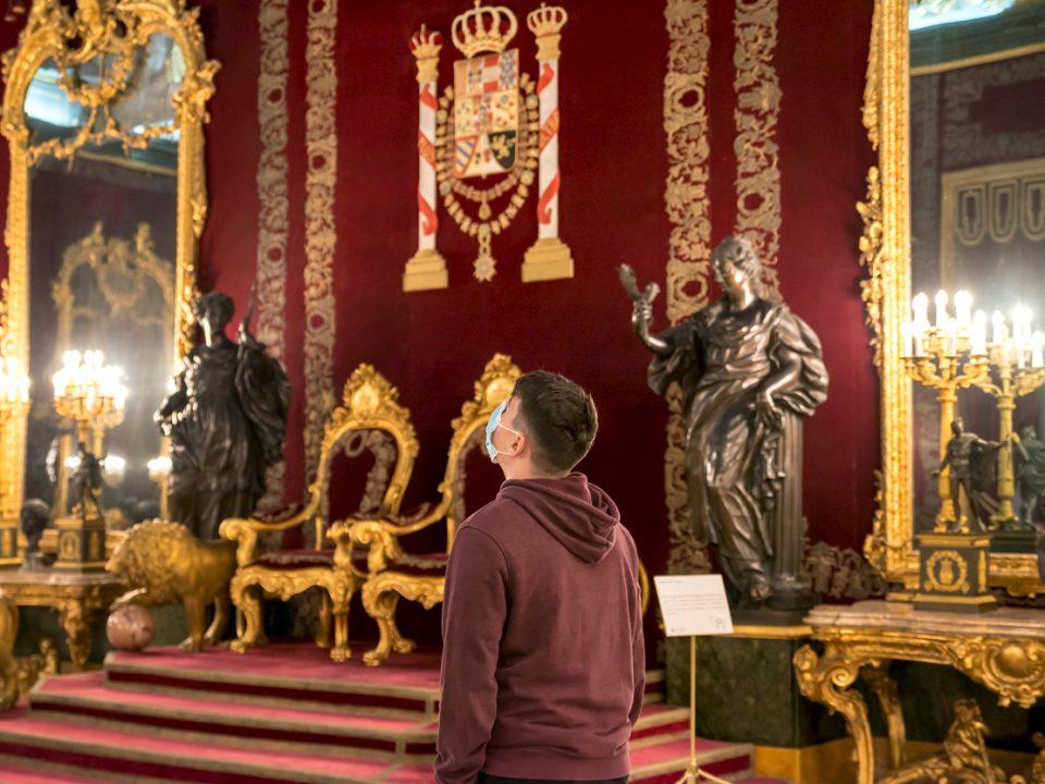 reapertura del palacio real de madrid