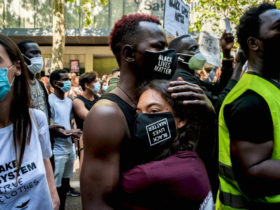 manifestacion black lives matter