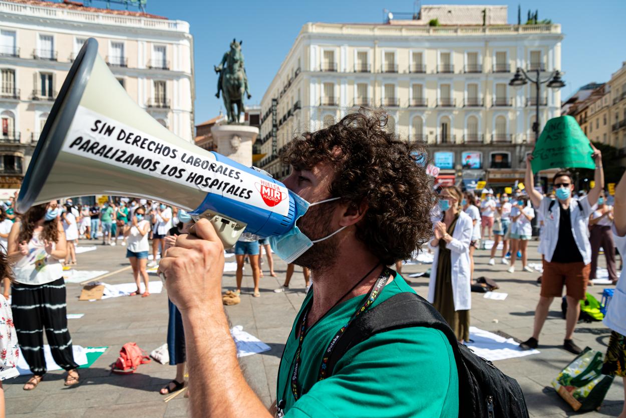 Manifestación Médicos Residentes
