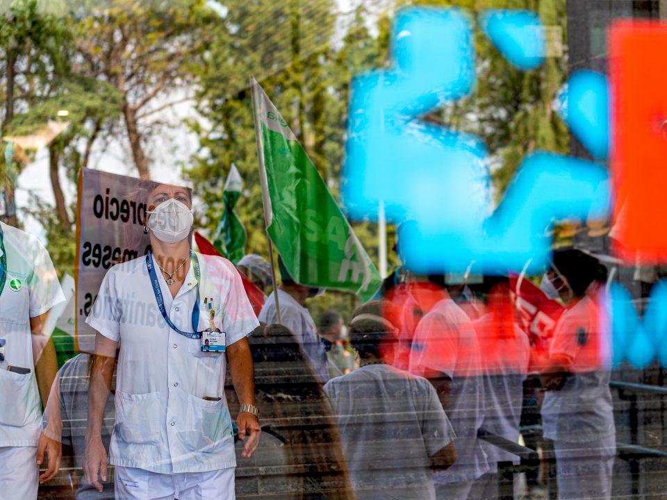 Manifestación de Sanitarios Madrid